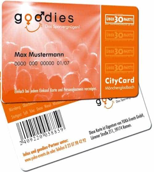 Barcode-Karten citycard