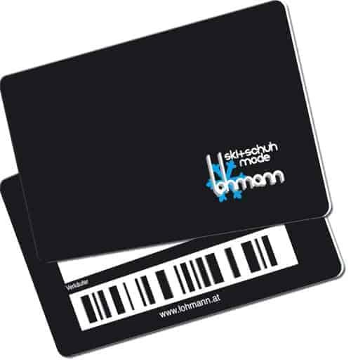 Barcode-karten lohmann