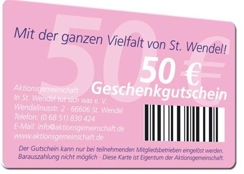 Gutscheinkarten drucken barcode
