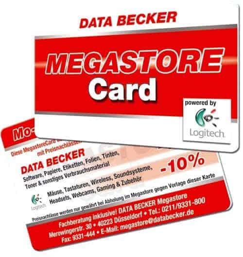 Kundenkarten drucken Data Becker