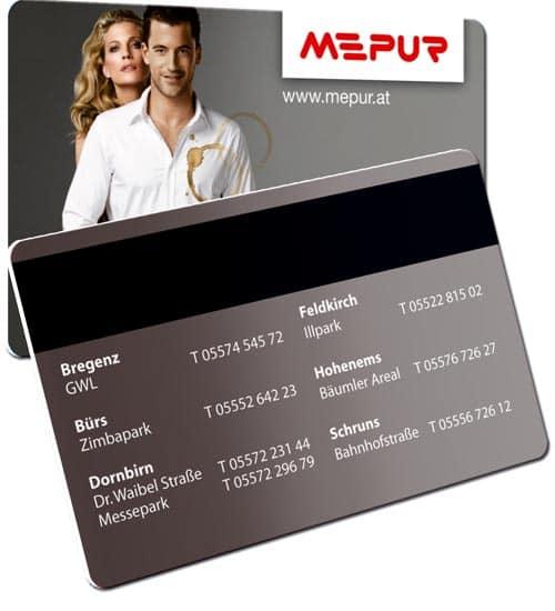 Magnetkarten Mepur
