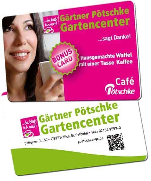 Plastikkarten für Wiederverkäufer Poetschke