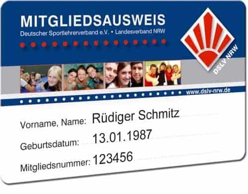 Plastikkarten- Personalisierung Schwarz