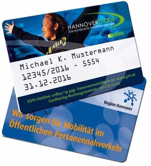 RFID-Karten drucken Hannover Mobil