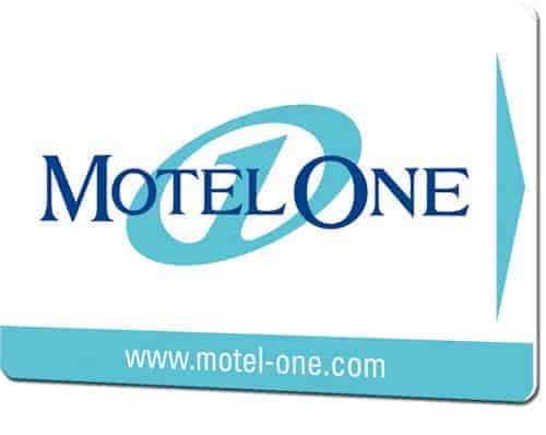 Schluesselkarten drucken Motel One
