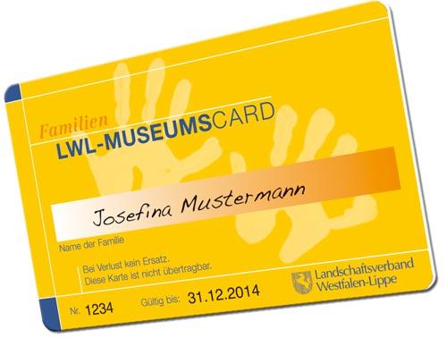 Dauerkarten drucken Museum