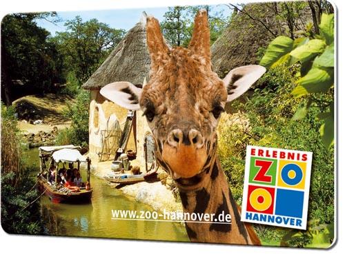 Dauerkarten drucken Zoo