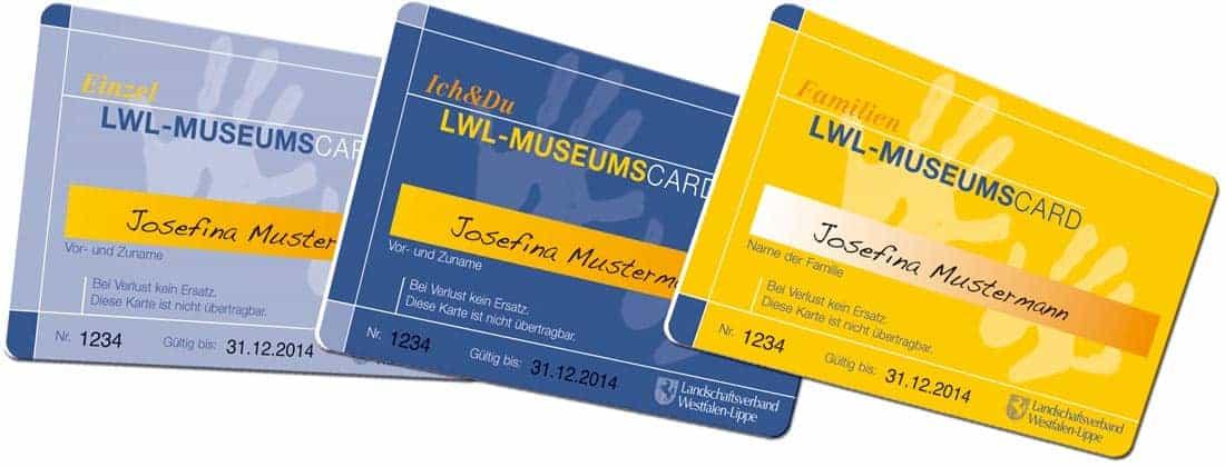 Museumskarten drucken LWL
