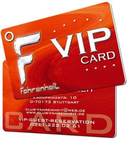 VIP-Karten drucken Discothek