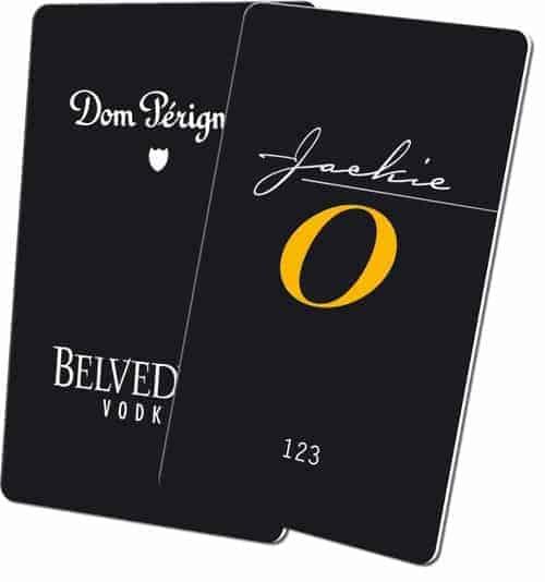 Keycards Jackie O Club