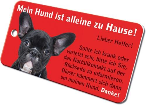 Notfallkarten Hunde Bulldogge