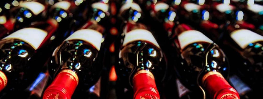 Non Woven Tragetaschen Weinhandel