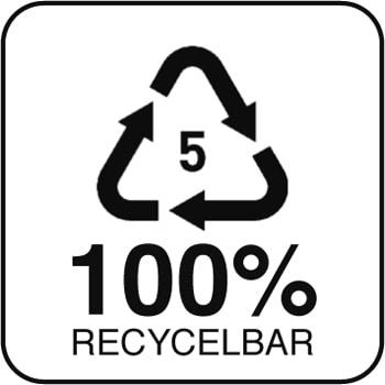 Non Woven Tragetaschen aus Polypropylen recycelbar