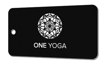 Key-Tag-Karten Yoga